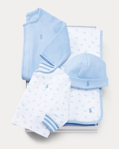 Striped 4-Piece Gift Set