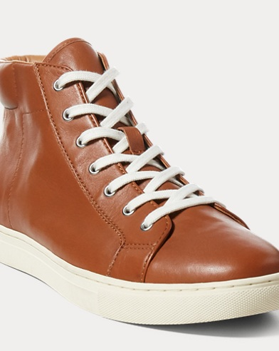 Dree Nappa High-Top Sneaker