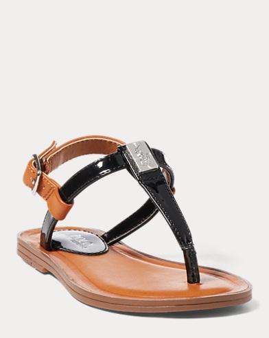 Gala Patent T-Strap Sandal