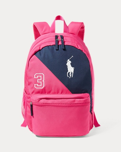 Color-Blocked Backpack