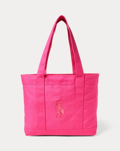 Big Pony Canvas Tote