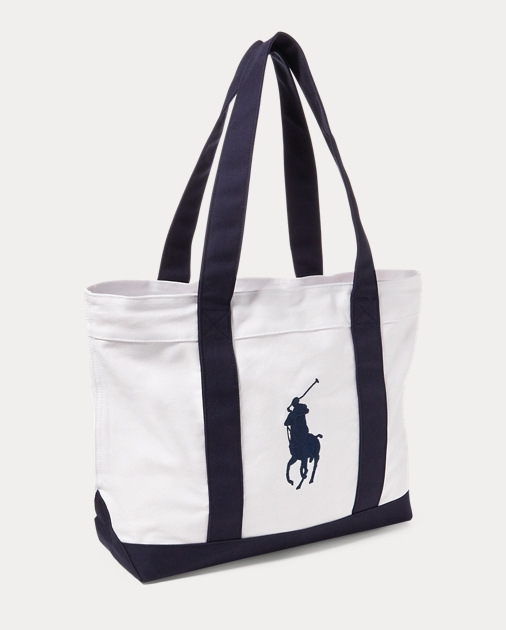 Girls Tote Big Pony in tela 2
