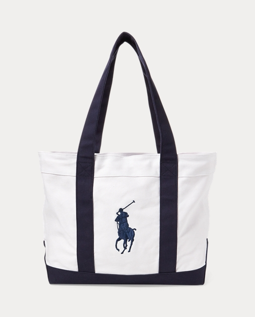 Girls Tote Big Pony in tela 1