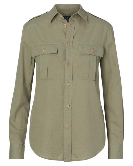 161f19c6f Polo Ralph Lauren Cotton-Linen Safari Shirt 1