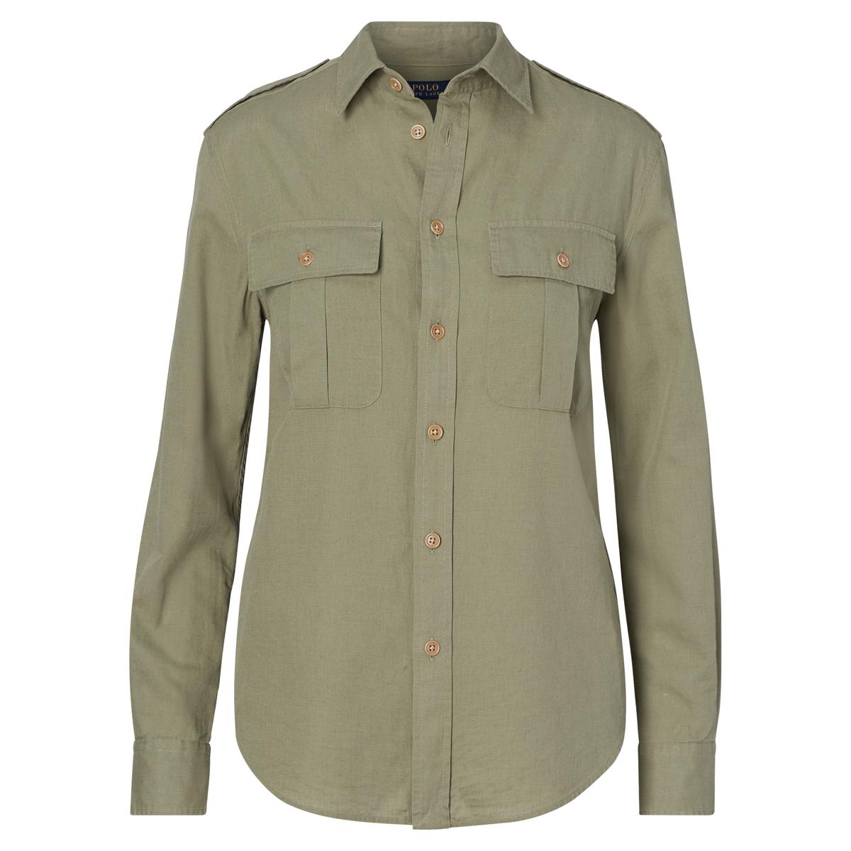 ee5afe1a4 Cotton-Linen Safari Shirt