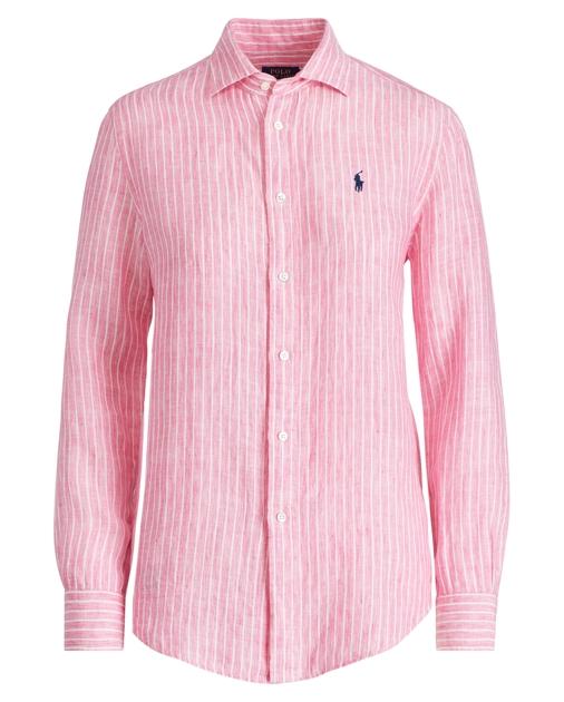 4c54942057c8 Polo Ralph Lauren Relaxed Fit Stripe Linen Shirt 1