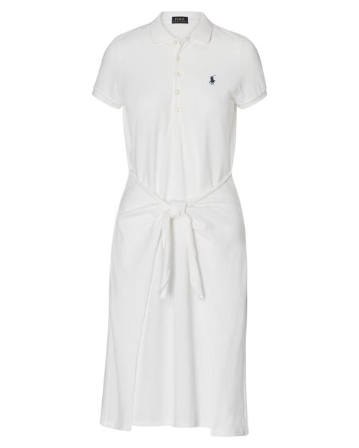 Ralph Tie Lauren Polo Front DressMidi Dresses OXuiPkTZ