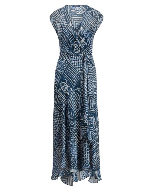 d97b7f4168d851 Silk Gauze Wrap Dress | Maxi Dresses | Ralph Lauren