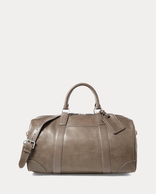 fbe433f381 Leather Duffel Bag