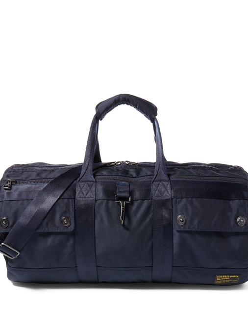 7b10910895f2 Polo Ralph Lauren Nylon Military Duffel Bag 1