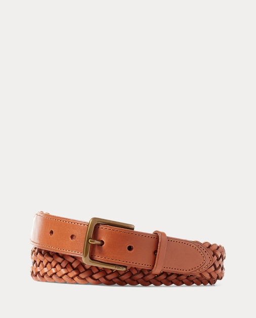 Lauren Vachetta Men Leather Braided BeltBeltsamp; Braces Ralph N0wmvyP8nO
