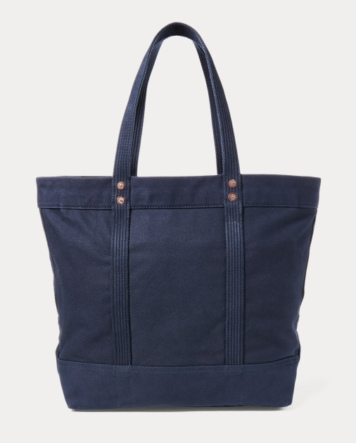 Leather Pony Lauren Goods Ralph Big ToteTotes Canvas Bagsamp; PkiuOXZT