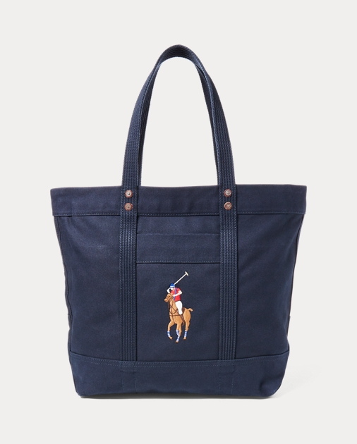 Canvas Big Pony Tote | Totes Bags & Leather Goods | Ralph Lauren on hillcrest kangaroo golf cart, kangaroo electric golf caddy, kangaroo remote golf cart, kangaroo golf caddy cart, kangaroo golf cart batteries, kangaroo golf cart accessories, kangaroo carts on ebay,