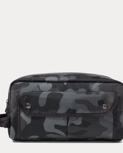 Camo-Print Nylon Shaving Kit  0083bbfca415a