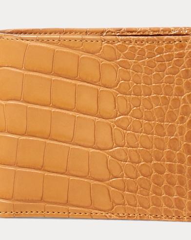 Burnished Alligator Wallet