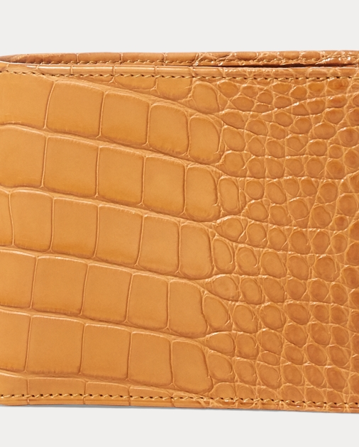 ff95e3a63 Burnished Alligator Wallet | Wallets & Money Clips Bags & Leather ...