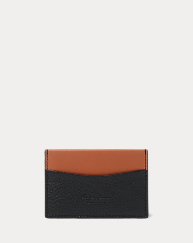 Two-Tone Grain Calf Card Case