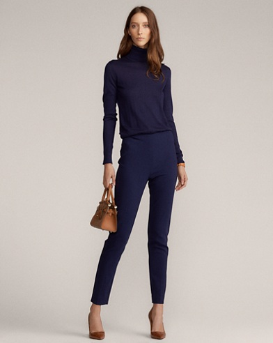 Annie Stretch Wool Pant