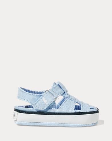 Sandales baskets en toile