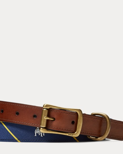 Anchor Tie Silk Belt