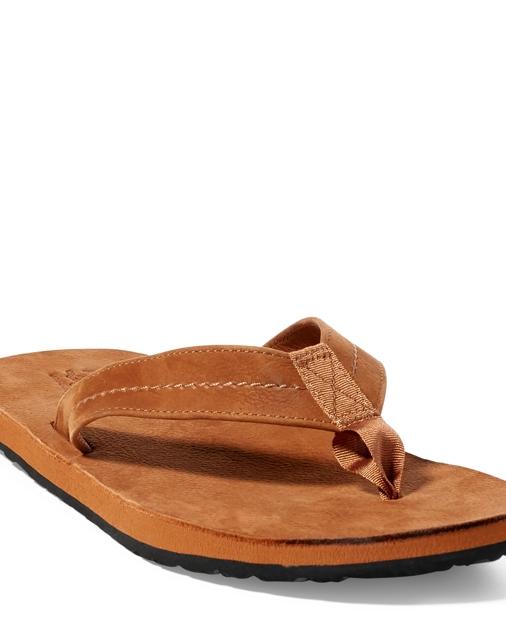 7fc7c0dd18dfe Polo Ralph Lauren Edgemont Nubuck Leather Sandal 1