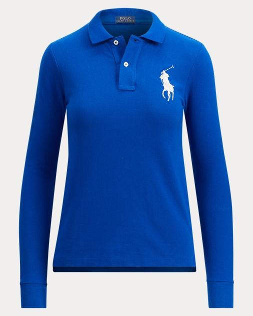 Polo Ralph Lauren Skinny Fit Long-Sleeve Polo 1 ef153134e