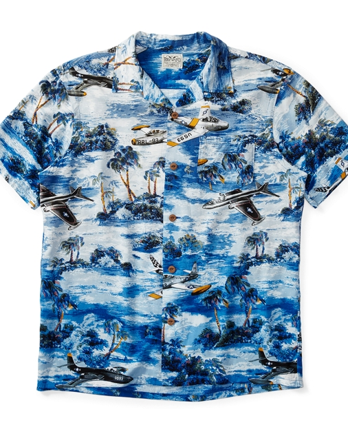 9507707ddc Hawaiian-Print Camp Shirt