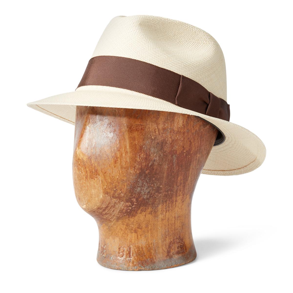 0275e80df91263 Handwoven Straw Panama Hat