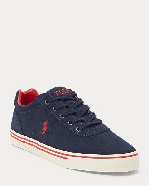 Hanford Suede Low-Top Sneaker   Ralph Lauren UK adf32a778fb