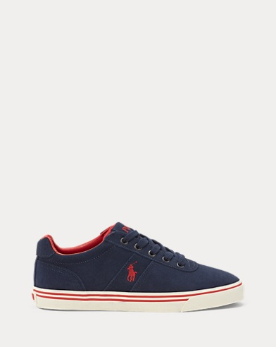 Hanford Suede Low-Top Trainer