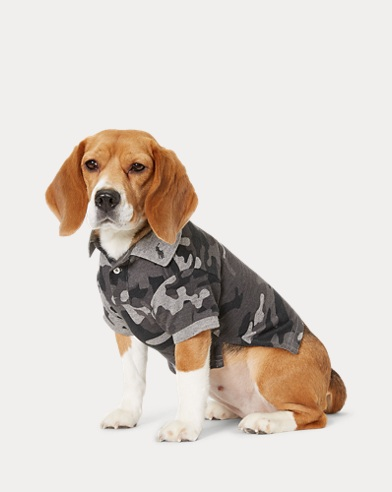 Camo Cotton Dog Polo