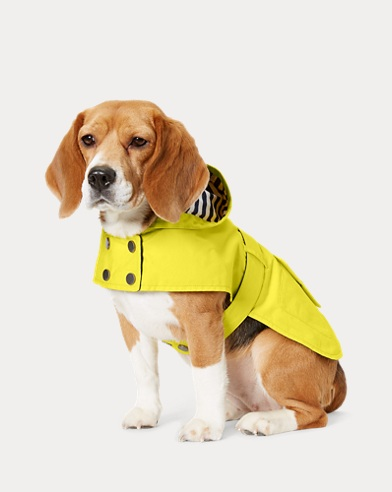 ed35a839a Hooded Dog Raincoat. NEW ARRIVAL. Ralph Lauren Pet