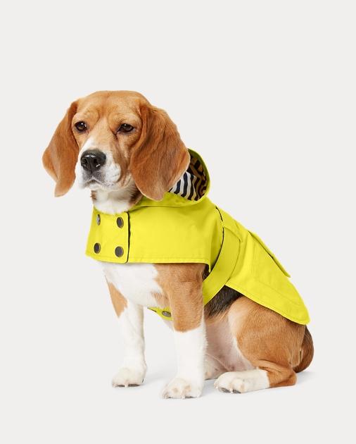 851f9766c Ralph Lauren Pet Hooded Dog Raincoat 1