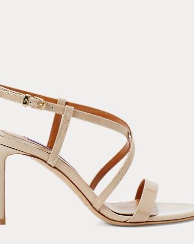 Arissa Patent Leather Sandal