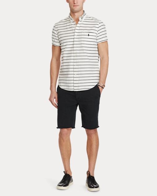 4348b11d3d Straight Fit Cotton Short   Shorts Shorts & Swimwear   Ralph Lauren