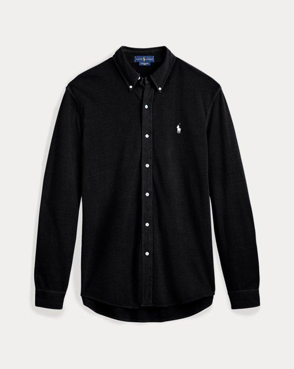Hemd aus Baumwollpiqué