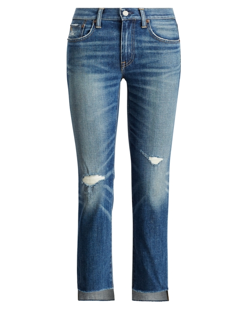 44b738971e Slim Cropped Jean | Straight Jeans | Ralph Lauren