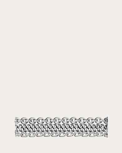 Silver 3-Chain Bracelet
