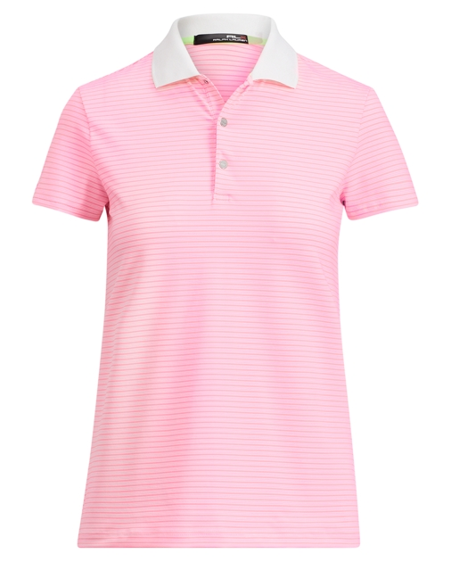 885a470947 Striped Stretch Jersey Polo | Polo Shirts Women | Ralph Lauren
