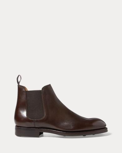 Mens Designer Boots Leather Chelsea Boots Ralph Lauren Uk