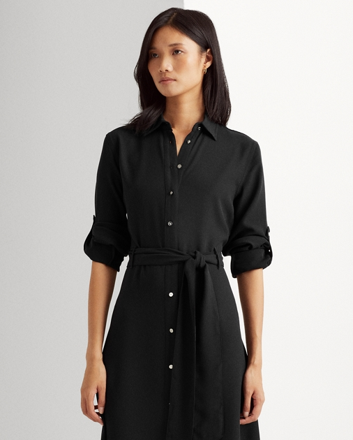 ab62239f2fb5 Lauren Fit-and-Flare Shirtdress 2