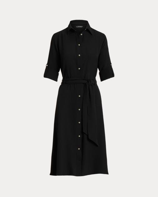 3f29fd7da862d Fit-and-Flare Shirtdress | Midi Dresses | Ralph Lauren