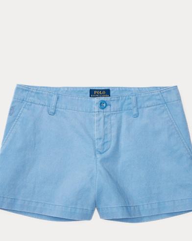 Washed Cotton Chino Short