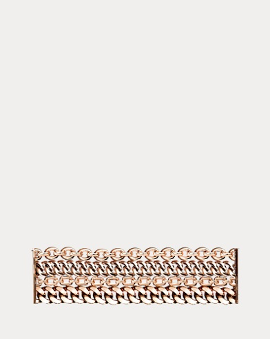 Rose Gold 4-Chain Bracelet
