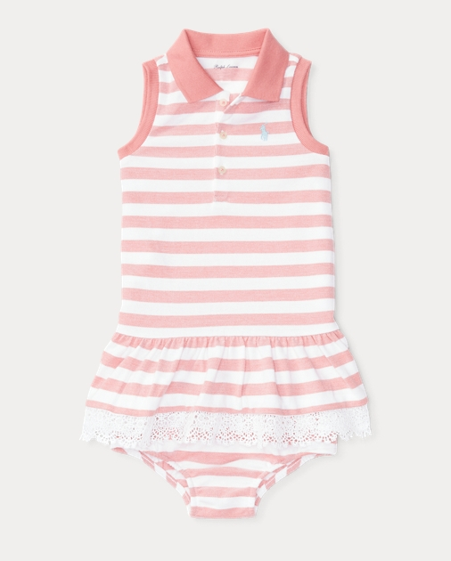 869157043e Striped Polo Dress & Bloomer | Dresses BABY GIRL (0-24 months ...