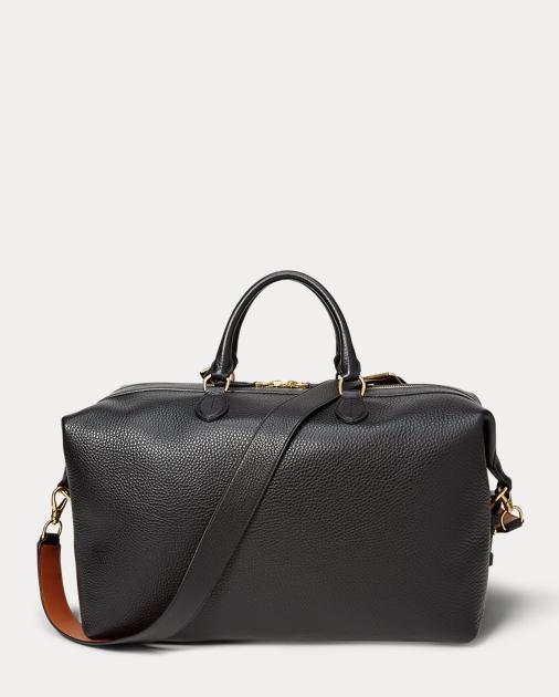 d6419c75f36 Ralph Lauren Grain Calfskin Duffel Bag 3