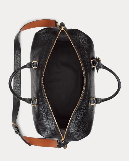 6282c88e120 Ralph Lauren Grain Calfskin Duffel Bag 4