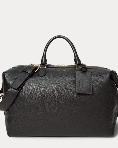 Grain Calfskin Duffel Bag