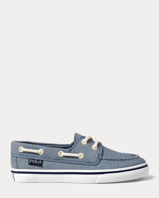 28c714b2b6 Batten Chambray Boat Shoe - Sneakers Little Kid (sizes 10.5-3 ...