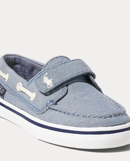 4fa9632342 Batten Chambray EZ Boat Shoe - Sneakers Little Kid (sizes 10.5-3 ...